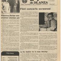 De Anza La Voz November 21 1975