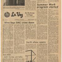 De Anza La Voz March 5 1971
