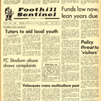 Foothill Sentinel February 7 1969
