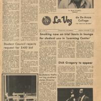 De Anza La Voz January 21 1972