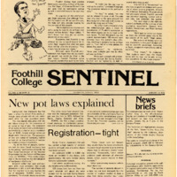 Foothill Sentinel January 16 1976