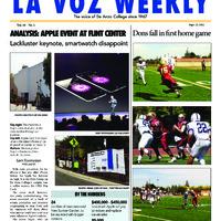 De Anza La Voz August 22 2014