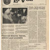 De Anza La Voz December 1 1978
