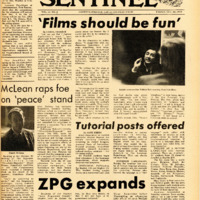 Foothill Sentinel October 30 1970
