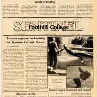 Foothill Sentinel November 9 1979