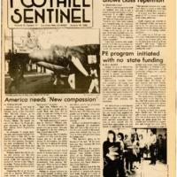 Foothill Sentinel January 18 1985