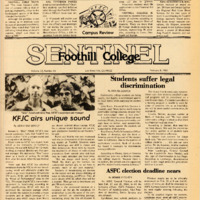 Foothill Sentinel February 8 1980