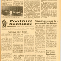 Foothill Sentinel April 1 1966