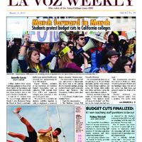 De Anza La Voz March 11 2013