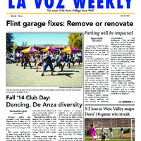 De Anza La Voz October 20 2014