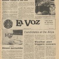 De Anza La Voz October 22 1976