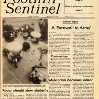 Foothill Sentinel October 7 1983