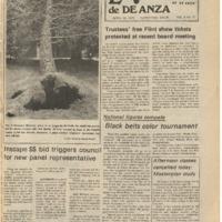 De Anza La Voz April 18 1975