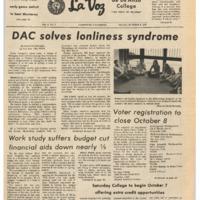 De Anza La Voz October 6 1972