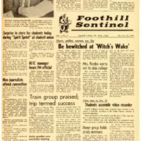 Foothill Sentinel October 30 1959