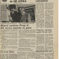 De Anza La Voz May 7 1976