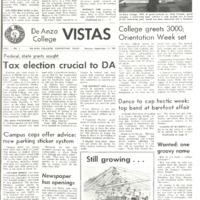 De Anza La Voz September 11 1967