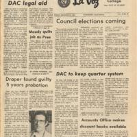 De Anza La Voz December 8 1972