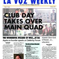 De Anza La Voz February 3 2014