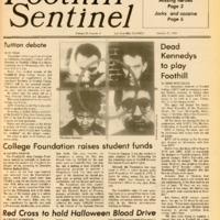 Foothill Sentinel October 21 1983