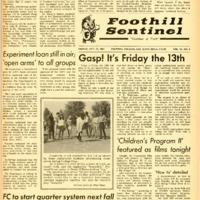 Foothill Sentinel October 13 1967