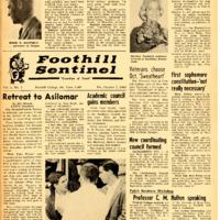 Foothill Sentinel October 7 1960