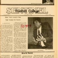 Foothill Sentinel October 5 1979