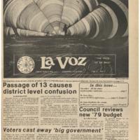 De Anza La Voz June 9 1978