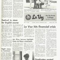 De Anza La Voz May 2 1969