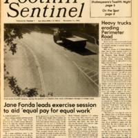 Foothill Sentinel November 11 1983