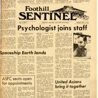 Foothill Sentinel October 2 1970