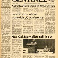 Foothill Sentinel November 20 1970