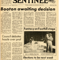 Foothill Sentinel May 21 1971