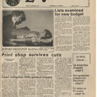 De Anza La Voz March 16 1979