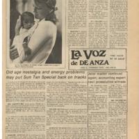 De Anza La Voz April 12 1975