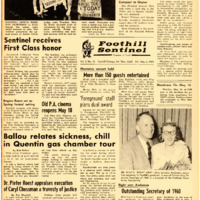 Foothill Sentinel May 6 1960