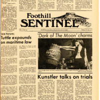Foothill Sentinel February 26 1971