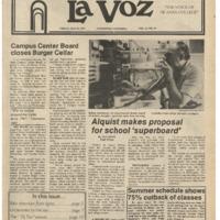 De Anza La Voz May 18 1979