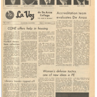 De Anza La Voz November 12 1971
