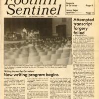 Foothill Sentinel March 16 1984