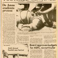 Foothill Sentinel November 20 1981