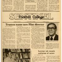 Foothill Sentinel October 19 1979