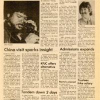 Foothill Sentinel November 8 1985
