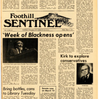 Foothill Sentinel March 5 1971