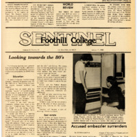 Foothill Sentinel January 11 1980