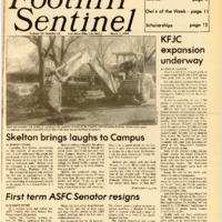 Foothill Sentinel March 2 1984