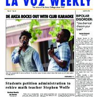 De Anza La Voz April 28 2014