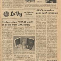 De Anza La Voz May 7 1971