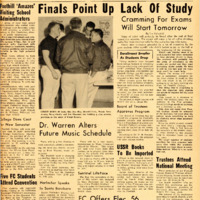 Foothill Sentinel January 28 1959