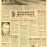 Foothill Sentinel June 14 1965